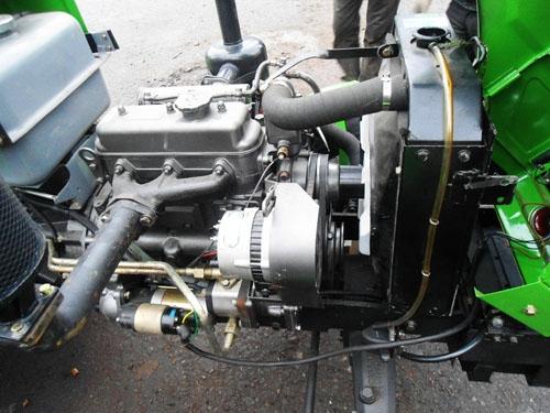 Минитрактор Catmann MT-244